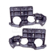 1ABMK00076-1995-05 Chevy Astro GMC Safari Headlight Mounting Bracket Pair