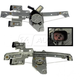 1AWRK00821-Window Regulator Rear Pair