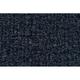 ZAICF00272-1986-89 Mazda 323 Passenger Area Carpet 7130-Dark Blue