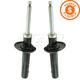 KYSSP00272-Volkswagen Strut Assembly Pair  KYB Excel-G 335808
