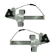 1AWRK00890-2000-05 Pontiac Bonneville Window Regulator Pair Rear