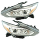 1ALHP01256-2016-17 Nissan Altima Headlight Pair