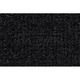 ZAICF00285-1986-89 Hyundai Excel Passenger Area Carpet 801-Black