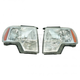 1ALHP01262-2009-14 Ford F150 Truck Headlight Pair