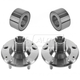 1ASHS01145-Wheel Bearing & Hub Kit Pair
