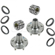 1ASHS01143-Subaru Wheel Bearing & Hub Kit Pair