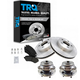 1ABMS00109-2002-05 Jeep Liberty Brake & Wheel Bearing Kit Front