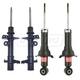 KYSSP00348-2007-11 Honda CR-V Shock & Strut Kit  KYB Excel-G 341492  339261  339262