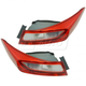 1ALHP01273-2013-15 Honda Accord Tail Light Pair