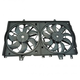 1ARFA00560-2014-17 Nissan Rogue Radiator Cooling Fan Assembly
