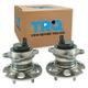 1ASHS01154-2010-17 Toyota Sienna Wheel Bearing & Hub Assembly Pair