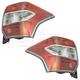 1ALTP01064-2014-16 Subaru Forester Tail Light Pair
