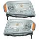 1ALHP01275-2012-15 Honda Pilot Headlight Pair