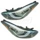 1ALHP01274-2014-16 Hyundai Elantra Headlight Pair