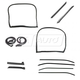 1AWSK00410-1973-77 Chevy Corvette Weatherstrip Seal Kit