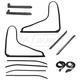1AWSK00412-1978-82 Chevy Corvette Weatherstrip Seal Kit