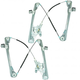 1AWRK00887-2000-07 Ford Focus Window Regulator Pair