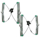 1AWRK00852-2008-13 Window Regulator Pair Front