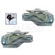 1AWRK00855-2001-06 Hyundai Elantra Window Regulator Pair