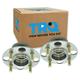 1ASHS01163-2000-06 Honda Insight Wheel Bearing & Hub Assembly Pair