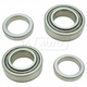 1ASHS01169-2008-14 Nissan Titan Wheel Bearing Pair