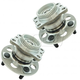 1ASHS01165-2012-16 Hyundai Accent Kia Rio Wheel Bearing & Hub Assembly Pair