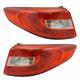 1ALTP01069-2015-17 Hyundai Sonata Tail Light Pair