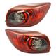 1ALTP01081-2014-18 Mazda 3 Tail Light Pair