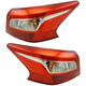 1ALTP01082-2016-17 Nissan Sentra Tail Light Pair
