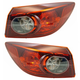 1ALTP01080-2014-16 Mazda 3 Tail Light Pair