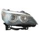 1ALHL02570-2008-10 BMW 528i 535i 550i Headlight