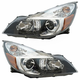 1ALHP01286-2013-14 Subaru Legacy Outback Headlight Pair