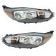 1ALHP01293-2014-17 Ford Fiesta Headlight Pair