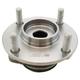 1ASHF00553-2009-14 Nissan Cube Wheel Bearing & Hub Assembly