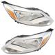 1ALHP01292-2012-14 Ford Focus Headlight Pair
