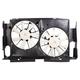 1ARFA00579-2013-17 Toyota Rav4 Radiator Dual Cooling Fan Assembly