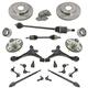 1ASFK05646-Honda Civic Steering  Suspension  & Brake Kit
