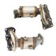 1AEEK00808-Hyundai Santa Fe Kia Sorento Exhaust Manifold with Catalytic Converter & Gasket Kit Pair