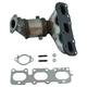1AEEM00858-Hyundai Santa Fe Kia Sorento Exhaust Manifold with Catalytic Converter & Gasket Kit