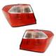 1ALTP01110-2014-16 Kia Forte Tail Light Pair