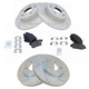 1ABPS02491-2013-15 Honda Accord Brake Kit