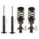 MNSSP01158-2013-15 Ford Fusion Shock & Strut Kit  Monroe 5667  272638