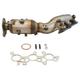 1AEEM00861-2010-12 Toyota 4Runner FJ Cruiser Exhaust Manifold with Catalytic Converter & Gasket Kit
