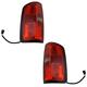 1ALTP01114-2015-17 Chevy Colorado Tail Light Pair