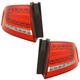 1ALTP01115-Audi A4 A4 Quattro S4 Tail Light Pair
