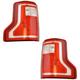 1ALTP01116-2015-17 Ford F150 Truck Tail Light Pair