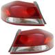 1ALTP01119-2017-18 Hyundai Elantra Tail Light Pair