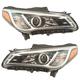 1ALHP01314-2015-17 Hyundai Sonata Headlight Pair