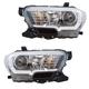 1ALHP01312-2016-17 Toyota Tacoma Headlight Pair