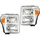 1ALHP01316-2011-16 Ford Headlight Pair